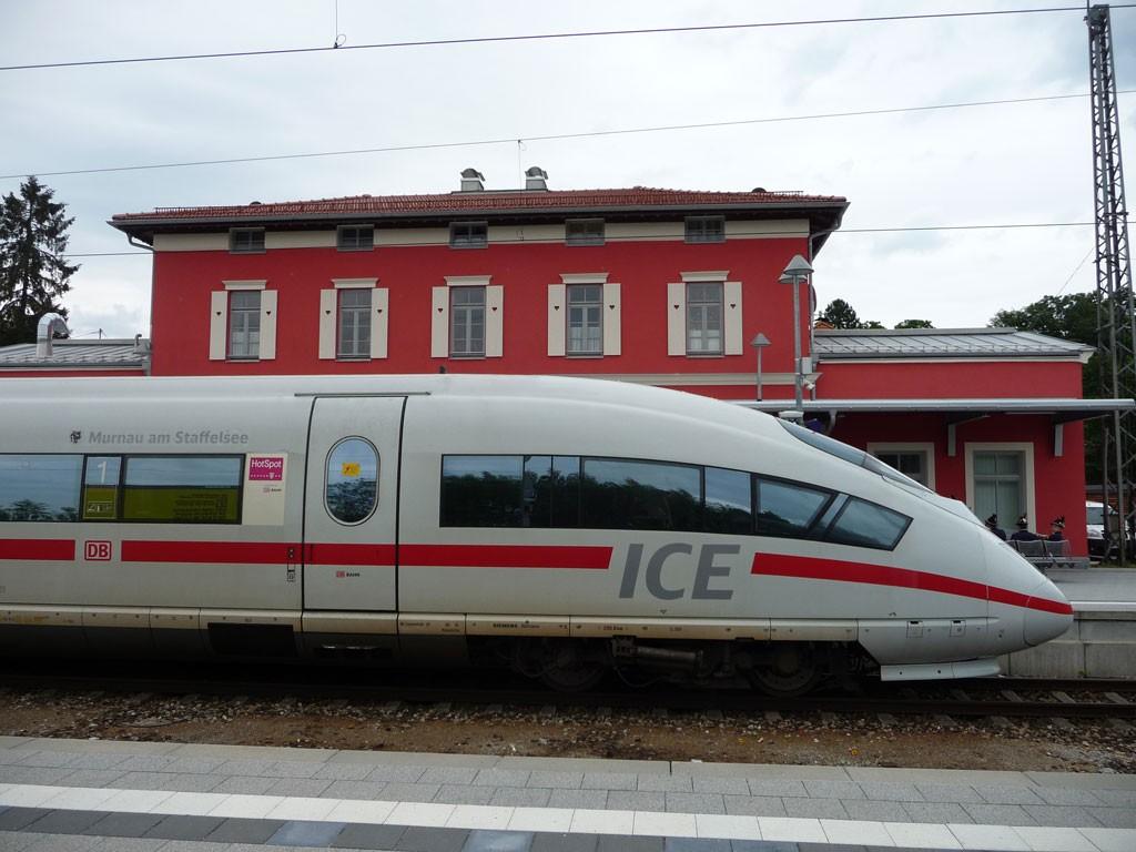 """ICE """"Murnau am Staffelsee"""""""